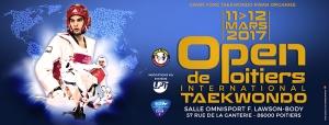Bannière Open tkd Poitiers